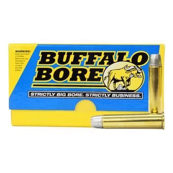 Buffalo Bore Ammunition 45-70 Government 430 Grain Lead Long Flat Nose Box of 20, UPC :651815008011