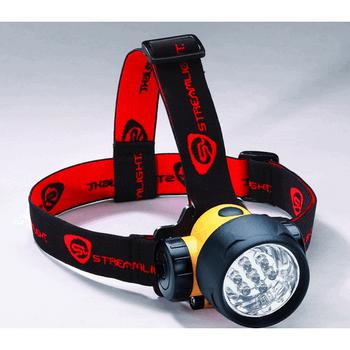 Streamlight Septor Headlamp LED with 3 AAA Batteries Polymer Yellow, UPC : 080926610521