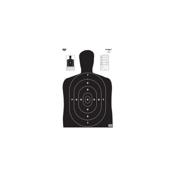 "Birchwood Casey Eze-Scorer BC27 Black Targets 23"" x 35"" Pack of 5, UPC : 029057370201"