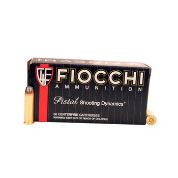 Fiocchi Shooting Dynamics Ammunition 38 Special 158 Grain Jacketed Hollow Point Box of 50, UPC :762344709901