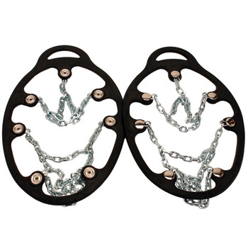 Chains Ice Trekkers, Black, Large, UPC : 096506085221