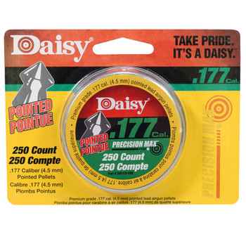 .177 Cal. Pointed Pellets - 250 Tin, UPC : 039256077771