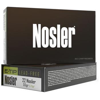 22 Nosler 55gr E-Tip (20 ct.), UPC :54041401401