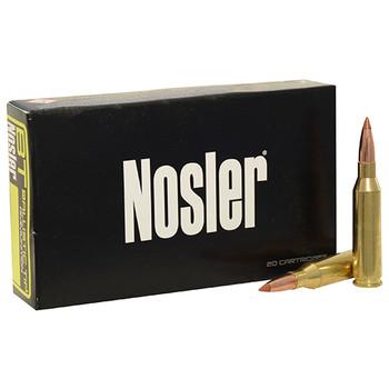Nosler BT Ammunition 6.5 Creedmoor 120 Grain Ballistic Tip Box of 20, UPC : 054041420501