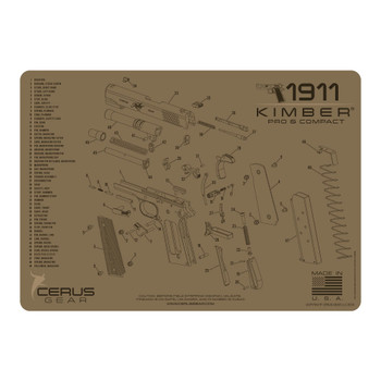 KIMBER COMP AND PRO SCHEMATIC COYOTE, UPC :680220904571