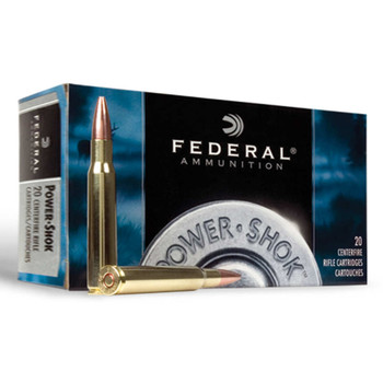 Federal Power-Shok Ammunition 375 H&H Magnum 270 Grain Soft Point Box of 20, UPC : 029465085711