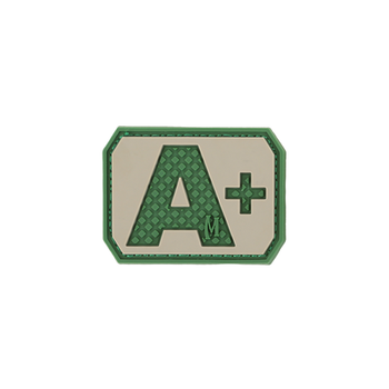 A+ POS Blood Type Patch, UPC :846909013181