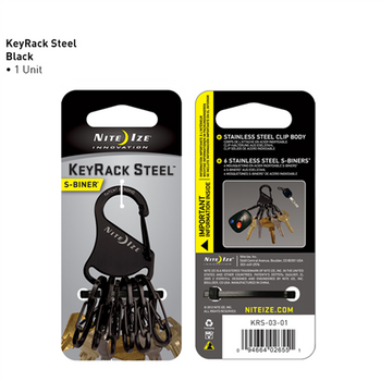 KeyRack Steel Black, UPC : 094664026551