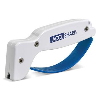 AccuSharp Model 001, Blade Sharpener, White , Plastic 001, UPC : 015896000010