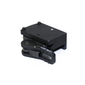 American Defense Mfg. Mount, Fits Trijicon RMR, Quick Release, Co-Witness Height, Black AD-RMR-CO, UPC :818503011160
