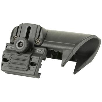 CAA Adjustable Cheek Piece for CAA Collapsible Stock, Black ACP, UPC :814716012710