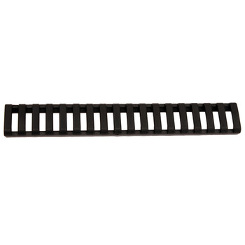 BLACKHAWK! Low Profile Picatinny Rail Cover, 18 Slot Rubber, Black 71RL00BK, UPC :648018150340