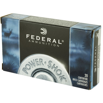 Federal PowerShok, 7x57, 175 Grain, Soft Point, Round Nose, 20 Round Box 7A, UPC : 029465084400