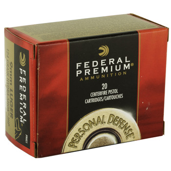 Federal Hydra-Shok, 9MM, 124 Grain, Hollow Point, 20 Round Box P9HS1, UPC : 029465088330