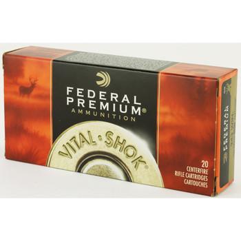 Federal Vital-Shok, 243 Win, 100 Grain, Nosler Partition, 20 Round Box P243E, UPC : 029465084530