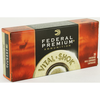 Federal Vital-Shok, 243 Win, 100 Grain, Nosler Partition, 20 Round Box P243E, UPC : 029465084530