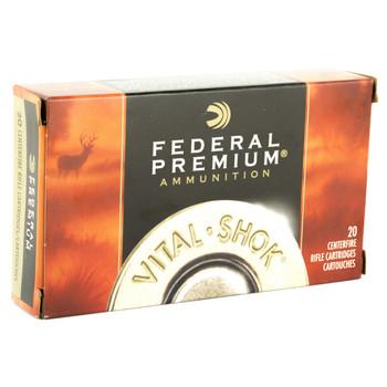 Federal Vital-Shok, 25-06REM, 100 Grain, Ballistic Tip, 20 Round Box P2506D, UPC : 029465090340