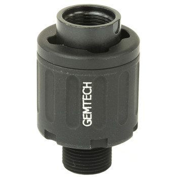 Gemtech 22 QDA Assembly, Quick Attach/Detach Adapter, 22LR, Black Finish, Includes One Thread Mount, One Adapter, and an Installation Wrench 12201, UPC :609224346880
