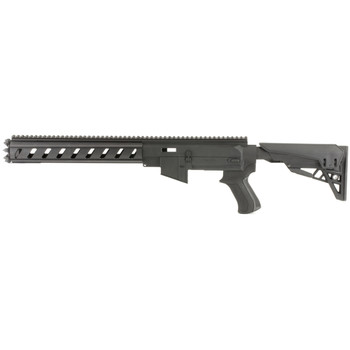 Advanced Technology TactLite, Stock System, Fits Ruger 10/22, AR-15 Replicate Polymer Receiver, Aluminum 6-sided forend and Six Position Adjustable Stock, Black Finish B.2.10.2210, UPC :758152691620