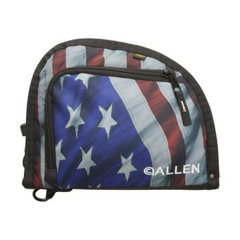 Allen Victory Autofit Single Handgun Case, American Flag Finish, Endura Fabric 7719, UPC : 026509077190