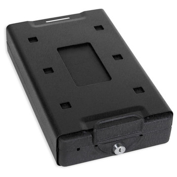 """Bulldog Cases Car Safe, 11.3""""x6.9""""x2.5"""", Keyed Lock, Black BD1150, UPC :672352007640"""