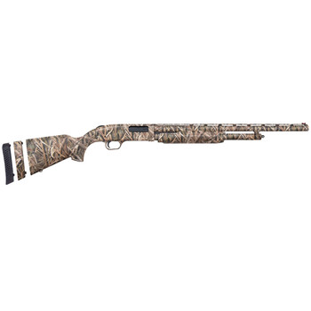 "Mossberg 500, Super Bantam, Waterfowl, Pump, 20Ga 3"", 22"", Mossy Oak Shadowgrass Blades, Synthetic, Right Hand, Vent Rib, 3"", AccuSet, 5Rd, Adj FO 54218, UPC : 015813542180"