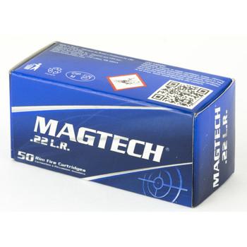 Magtech Rimfire, 22LR, 40 Grain, Lead Round Nose, 50 Round Box 22B, UPC :754908184910