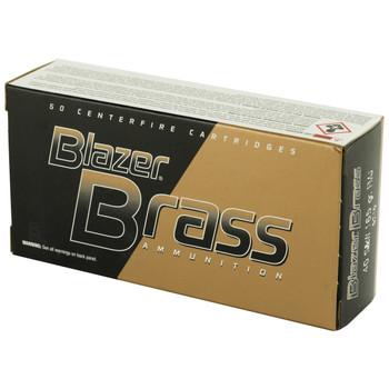 CCI/Speer Blazer Brass, 40 S&W, 165 Grain, Full Metal Jacket, 50 Round Box 5210, UPC : 076683052100