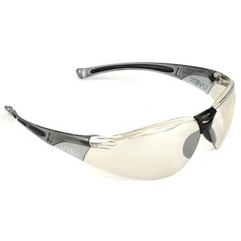 Howard Leight HL804 Glasses, Gray Frame, Mirror Lens/Anti-Scratch R-01708, UPC : 033552017080