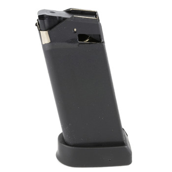 Glock OEM Magazine, 45ACP, 6Rd, Fits GLOCK 36, Cardboard Style Packaging, Black Finish 3606, UPC :764503360060