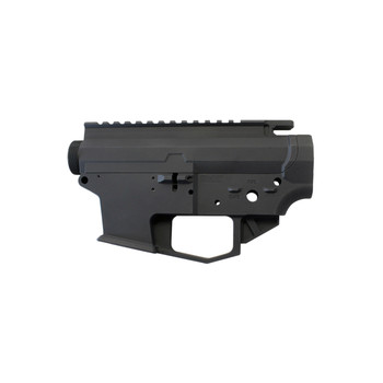 Angstadt Arms 0940 Lower/Upper Receiver Set, Semi-automatic, Accepts Glock Style Magazines in 40 S&W, 9MM, and 357 Sig, Matte Black Finish, Compatible with Magpul PMAG GL9 Magazines AA0940RSBA, UPC :867114000100
