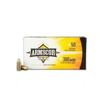 Armscor 38 Special, 158 Grain, Full Metal Jacket, 50 Round Box FAC380-2N, UPC :812285020020
