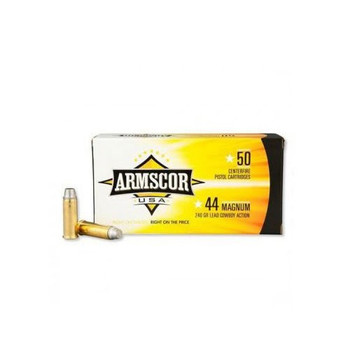 Armscor 44MAG, 240 Grain, Semiwadcutter, 50 Round Box FAC44M-1N, UPC :812285021720