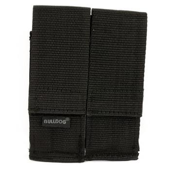 Bulldog Cases Double Magazine Pouch, Black WMAGL, UPC :875591000230