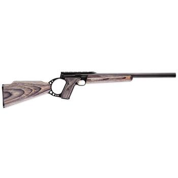 "Browning Buck Mark, Field Target, Semi-automatic, 22LR, 18""Bull Barrel, Blue Finish, Gray Laminate Stock, 10Rd 021030202, UPC : 023614239000"