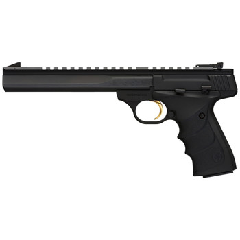"Browning Buck Mark, Contour, Semi-automatic, 22LR, 7.25"" Barrel, Aluminum Frame, Black Finish, URX Grip, 10Rd 051502490, UPC : 023614043430"