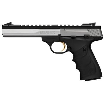 "Browning Buck Mark, Contour, Semi-automatic, 22LR, 5.5"" Barrel, Aluminum Frame, Stainless Finish, URX Grip, 10Rd, Optics Rail 051507490, UPC : 023614062400"