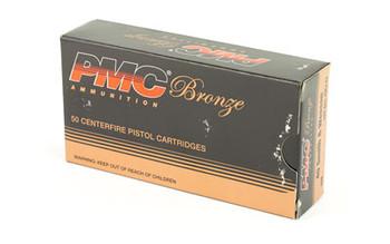 PMC Bronze, 40S&W, 165 Grain, Full Metal Jacket, 50 Round Box 40D, UPC :741569070430