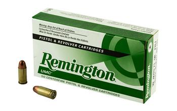 Remington UMC, 32ACP, 70 Grain, Full Metal Jacket, 50 Round Box 23704, UPC : 047700169200