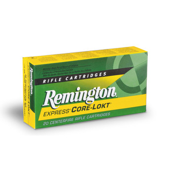 Remington Core Lokt, 7MM-08, 140 Grain, Pointed Soft Point, 20 Round Box 21337, UPC : 047700053400