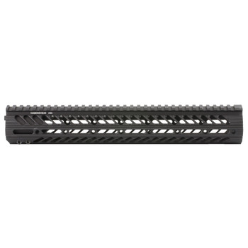 "Diamondhead USA, Inc. VRS-X Free-Floating Handguard Rail, AR-15, 13.5"", Black 2131, UPC :857880003160"