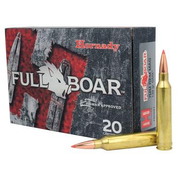 Hornady Full Boar, 7MM Rem, 139 Grain, GMX, Lead Free, 20 Round Box 80597, UPC : 090255805970