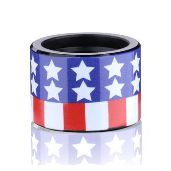Backup Tactical Pistol Thread Protector, American Flag Finish, 1/2X28 FLAG, UPC :855909004280