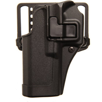BLACKHAWK! CQC SERPA Holster With Belt and Paddle Attachment, Fits Glock 19/23/32/36, Left Hand, Black 410502BK-L, UPC :648018013850