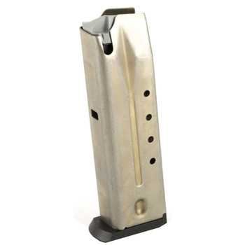 Ruger Magazine, 9MM, 15Rd, Stainless, Fits P89/95 90233, UPC :736676902330