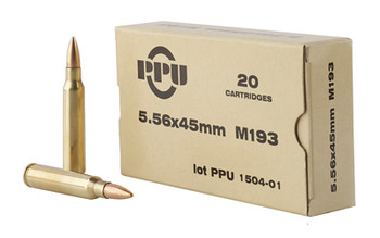 Prvi Partizan Rifle, 556NATO, 55 Grain, Full Metal Jacket, 20 Round Box PPN5561, UPC :8605003812500