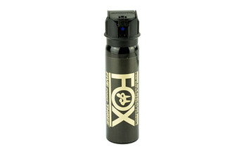 PS Products Fox, Pepper Spray, 4oz, Flip-Top Stream 32FTS, UPC :817444010140