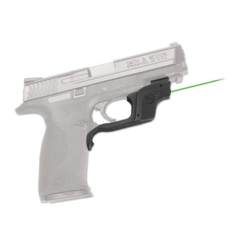 Crimson Trace Corporation Green Laserguard, Fits Smith & Wesson M&P Compact& Full, Black, User Installed Battery LG-360G, UPC :610242006120