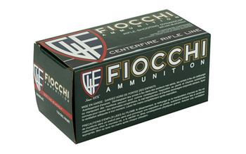 Fiocchi Ammunition Rifle, 300 AAC Blackout, 150 Grain, Full Metal Jacket Boat Tail, 50 Round Box 300BLKC, UPC :762344711010