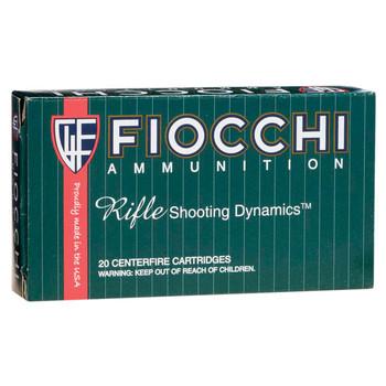 Fiocchi Ammunition Rifle, 308WIN, 150 Grain, Full Metal Jacket Boat Tail, 20 Round Box 308A, UPC :762344705620